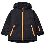 Kuling Hafjell Skidjacka Always Black/Yellow Mustard