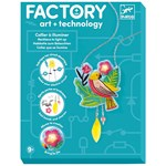 Djeco FACTORY – Calypso Light-Up Necklace Konst & Teknik Kit