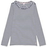 Joules Muriel T-shirt Navy/Silver Stripe