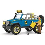 Schleich Off-Road Vehicle With Dino Outpost Lekset
