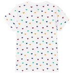 Vans Colourful Hearts T-shirt Vit