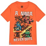 LEGO Wear Ninjago T-shirt Orange