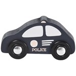 STOY Mini Police Car Fordon Svart