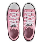 Converse Coated Glitter Chuck Taylor All Star OX Sneakers Rosa