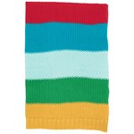 Frugi Rainbow Stripe Cuddle Up Filt
