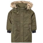 Hummel Green Leaf Parka Jacket