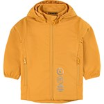 Minymo Softshell Jacket  Solid Golden Orange